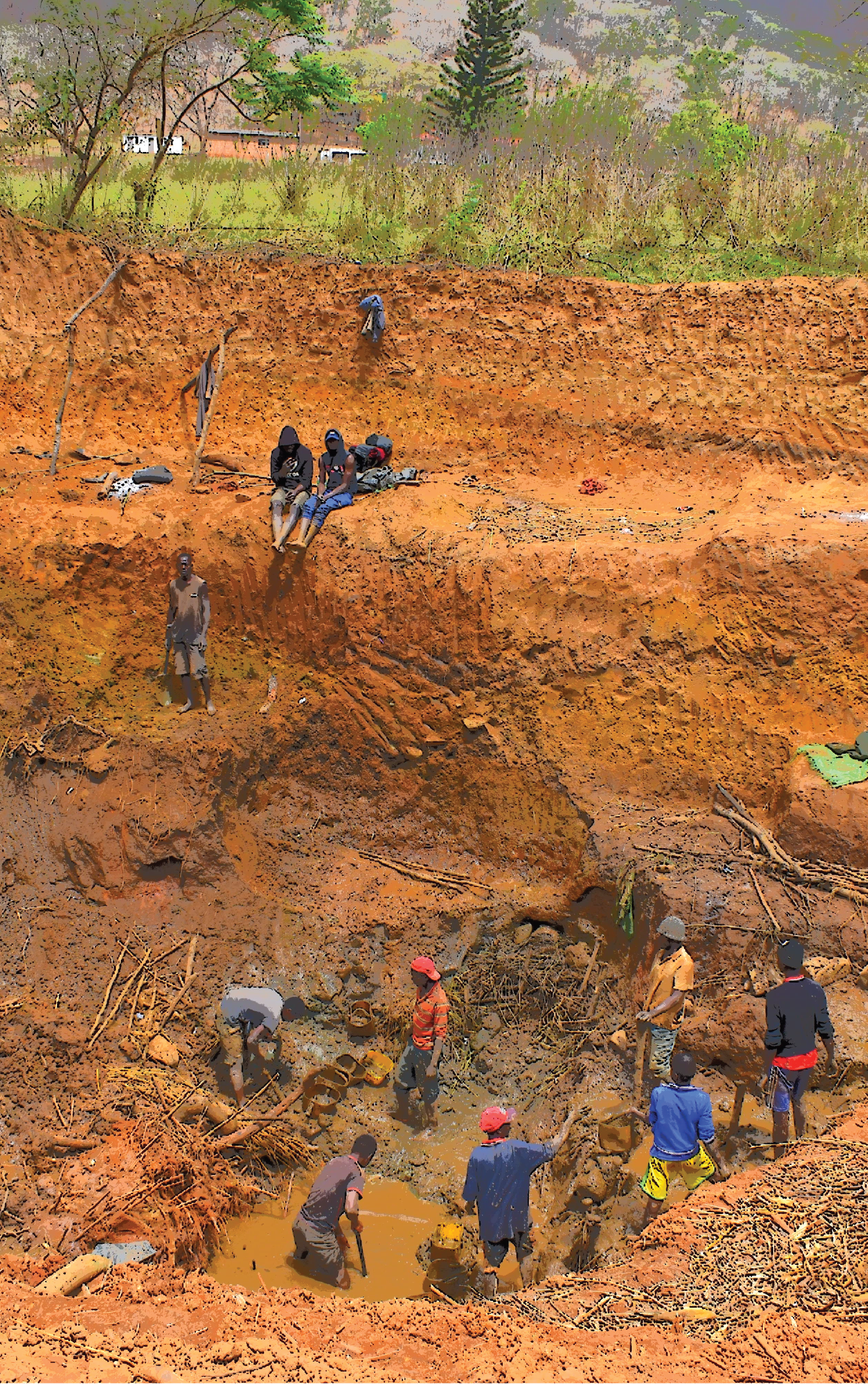 artisanal mining miners criminalisation